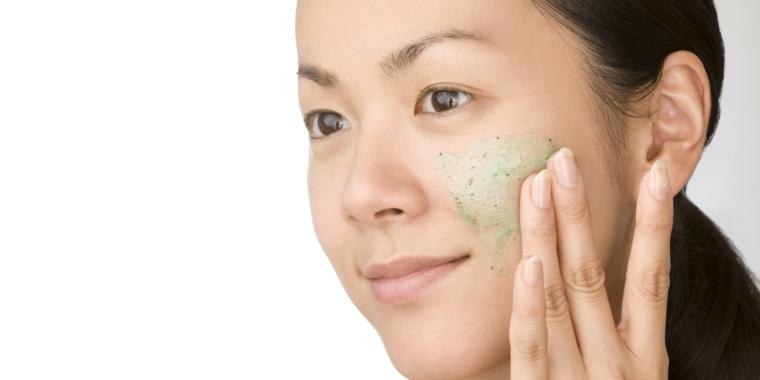 exfoliante casero para la cara-natural