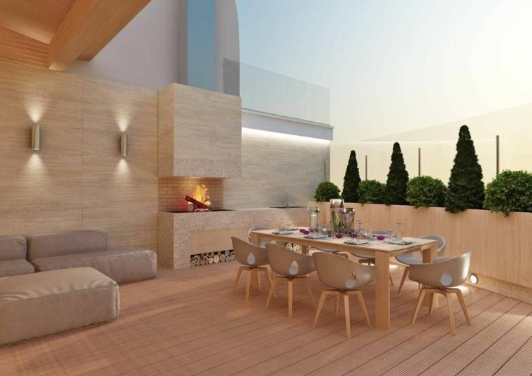 exteriores de casas-modernos-elegantes