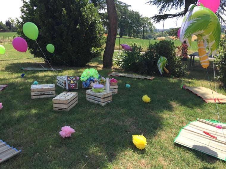 fiestas infantiles-celebracion-cumpleanos-estilo-hawayano