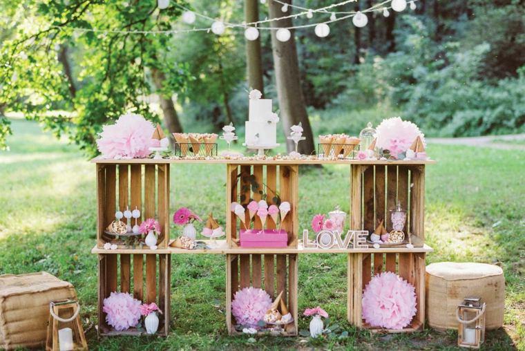 fiestas infantiles-celebracion-cumpleanos-estilo-romantico