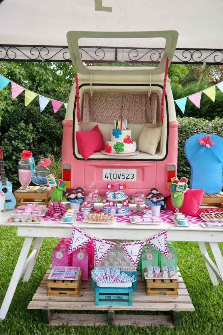 fiestas infantiles-celebracion-ninos-colores-decoracion