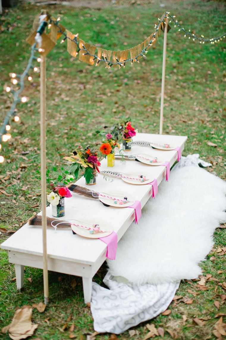 fiestas-infantiles-decoracion-mesa-luces