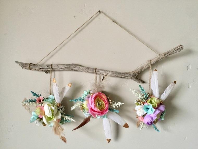 ideas baby shower-decorar-pared