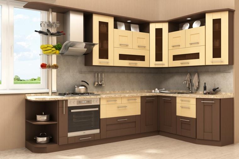 ideas muebles-decorar-cocinas-pequenas