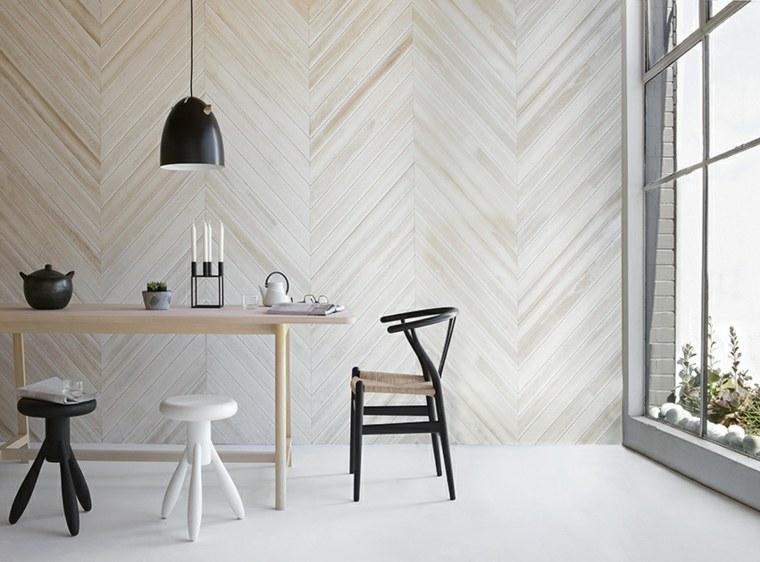ideas para decorar interior-enlosado-madera