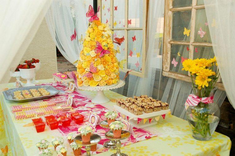 ideas para fiestas de cumpleaños mariposas