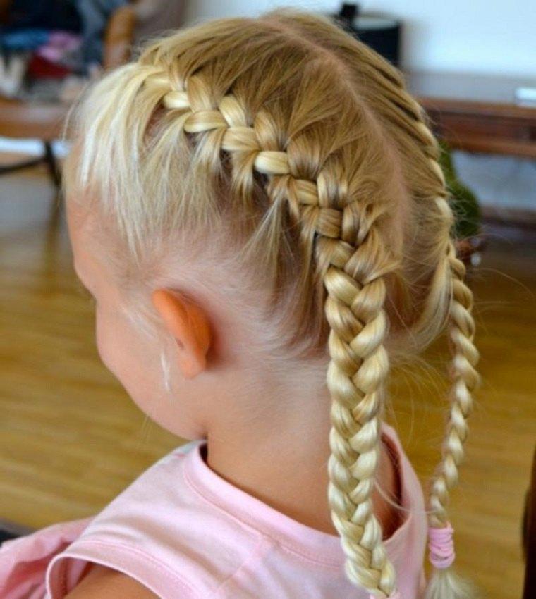 Peinados Faciles Para Niñas Opciones Sencillas Pero Muy