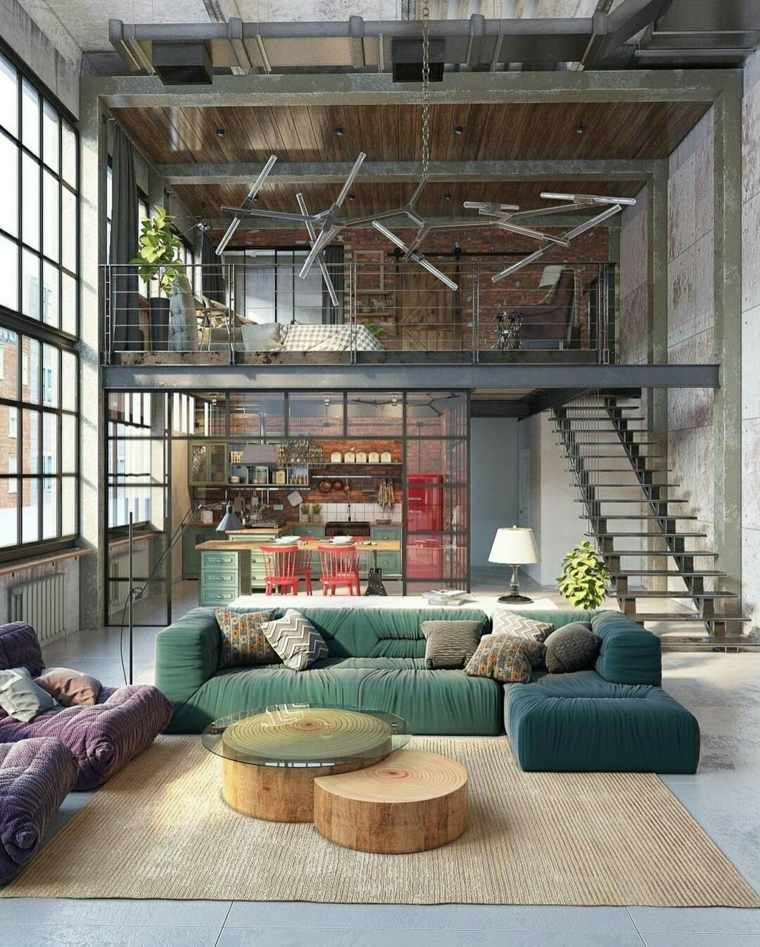 Industrial un estilo de dise o de interiores que se for Diseno de apartamentos industriales