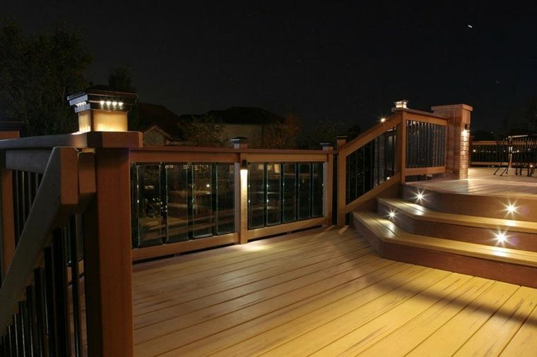 iluminacion exterior-lamparas-escalones-jardin