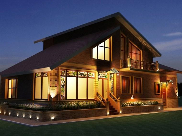 iluminacion exterior-moderna-elegante-casa