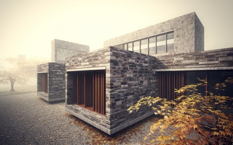 imagenes de arquitectura-moderna-piedra