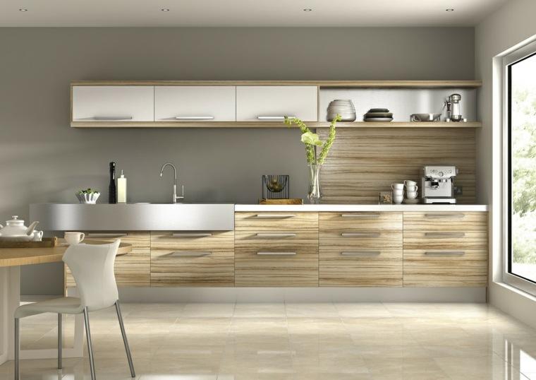 imagenes de cocinas-madera-minimalistas