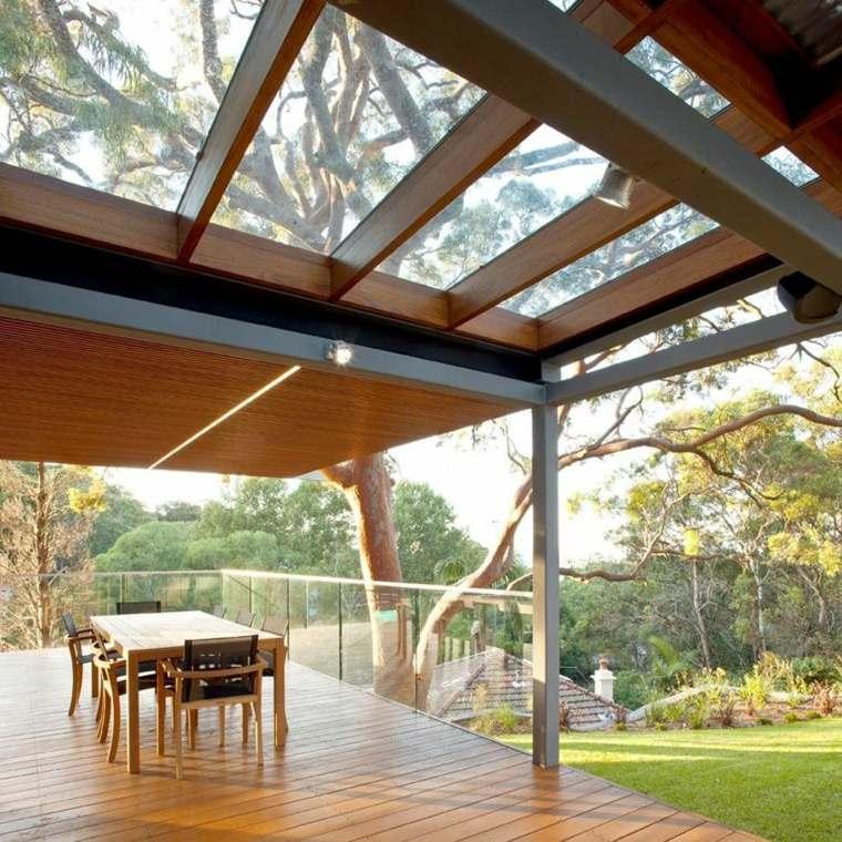 diseño y decoración de porches de madera