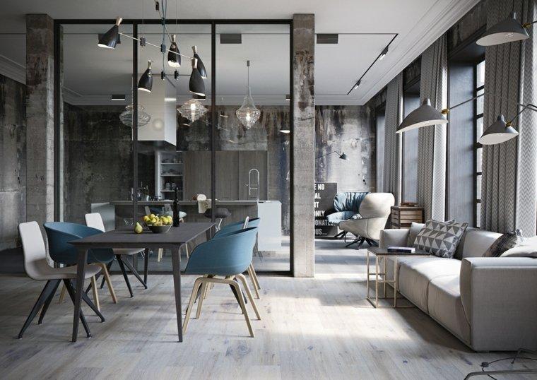 Pisos de concreto o madera