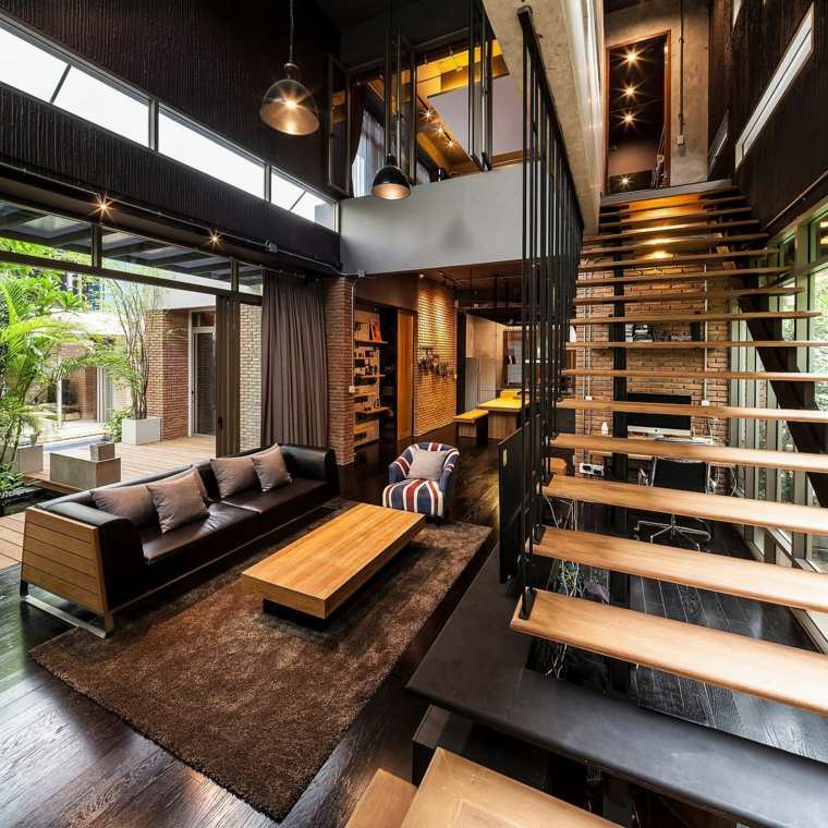 original diseño de interior industrial