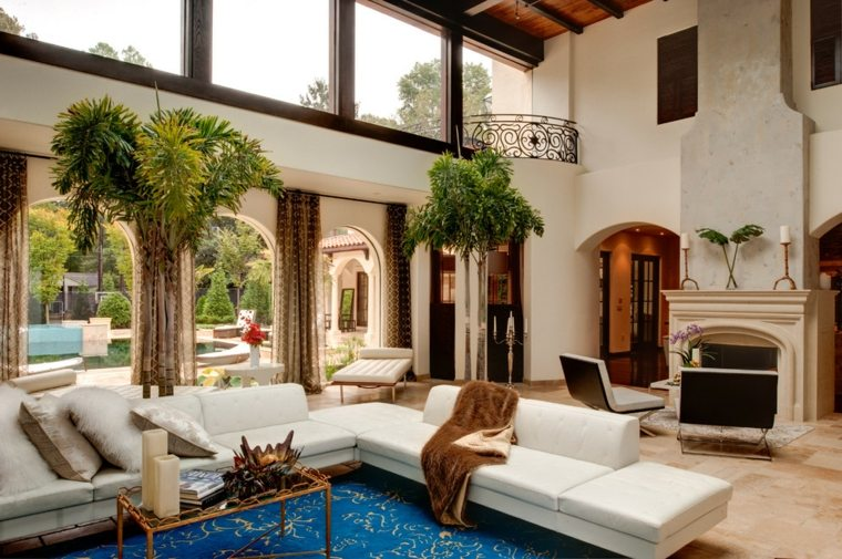 Interiores de casas modernas de estilo mediterr neo - Muebles estilo mediterraneo ...