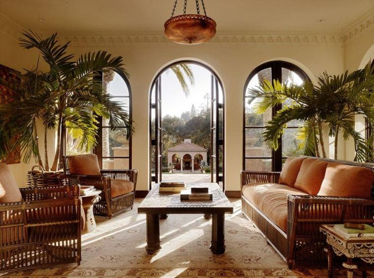 interiores de casas modernas-mediterraneas