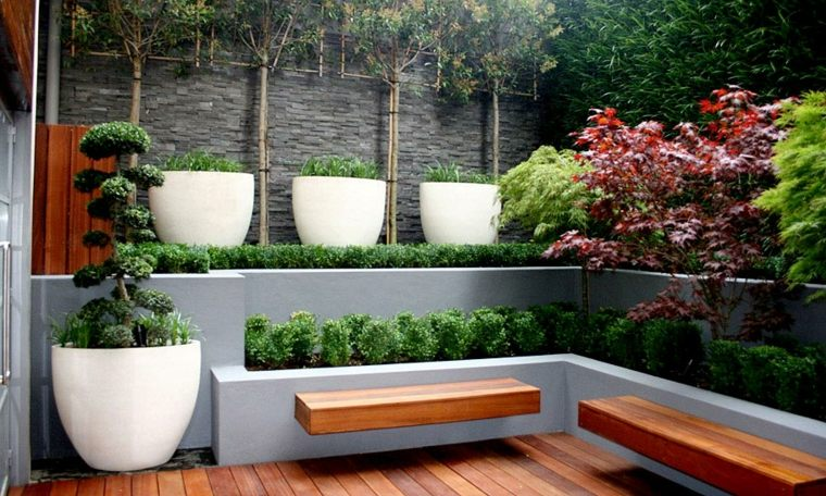 Jardineras modernas para decorar interiores y exteriores Plantas jardineras exterior