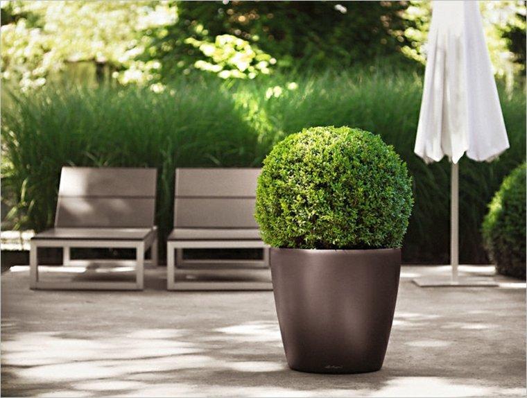 jardineras modernas-decorar-terraza