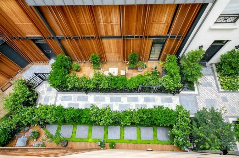 jardineras modernas-elegantes-apartamentos