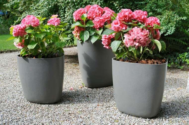 jardineras modernas-elegantes-decorar-exterior