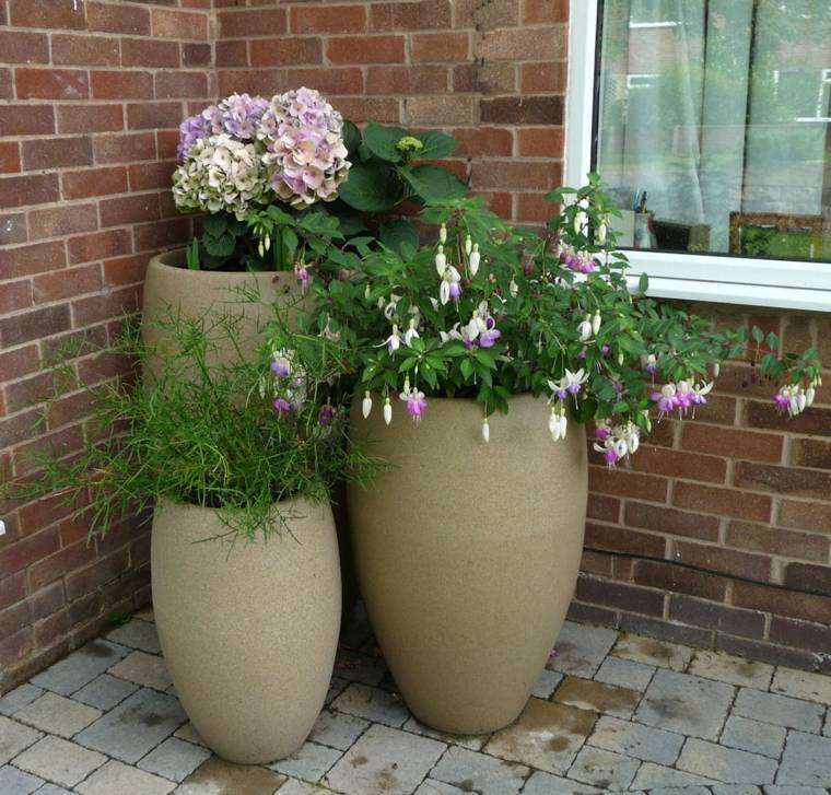 jardineras modernas-elegantes-decorar-terraza