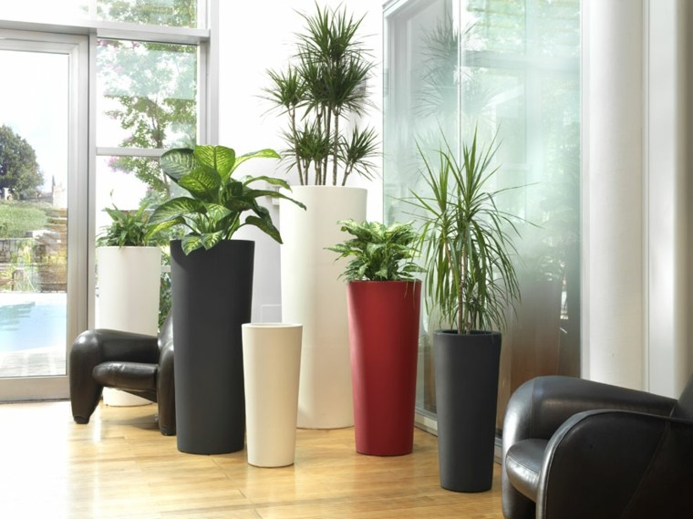 jardineras modernas-grandes-decorar-interior
