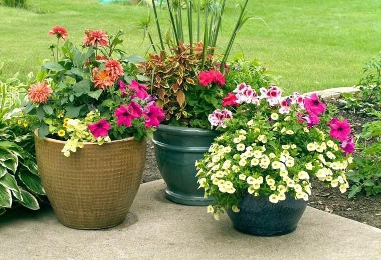 jardineras modernas-originales-decorar-terraza