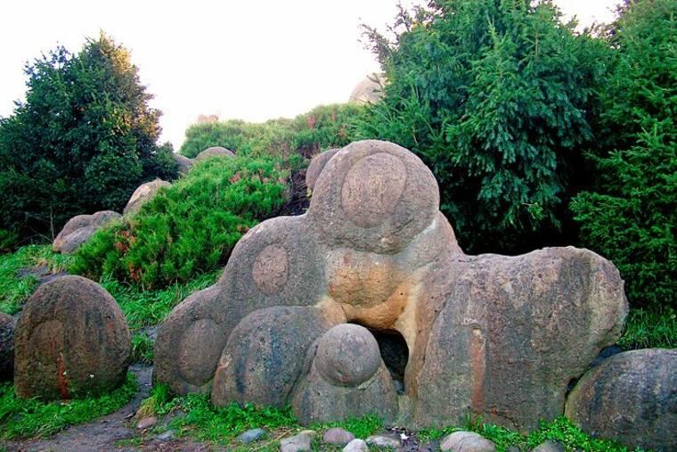 jardines con piedras interesantes