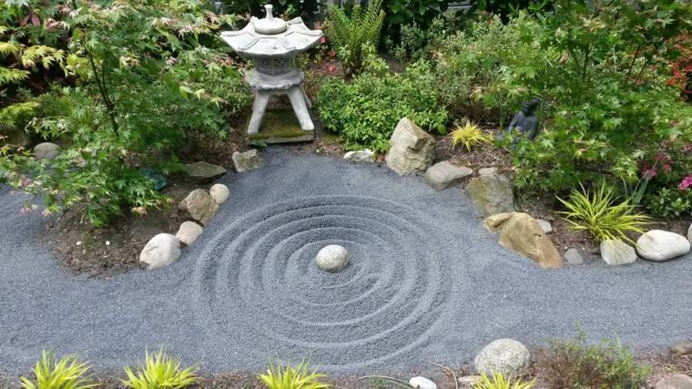 jardines con piedras japoneses