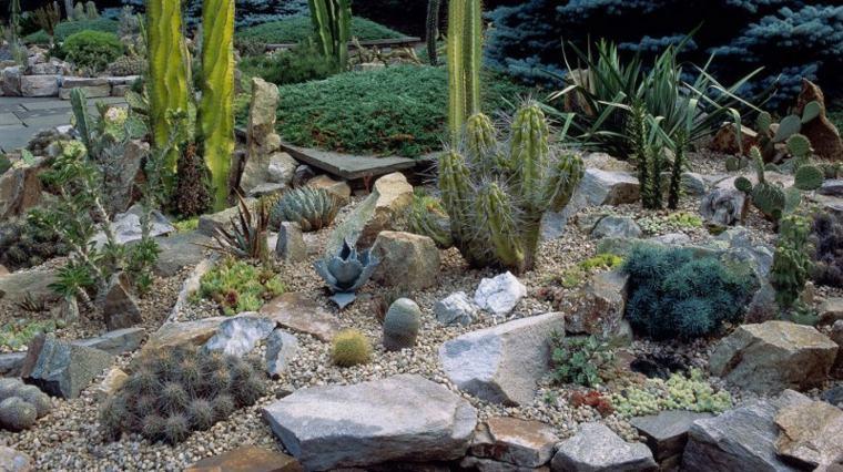 jardines con piedras