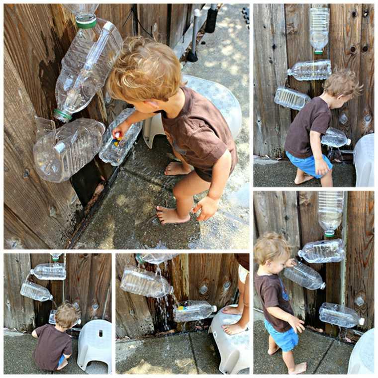 juegos infantiles para jardín con-agua