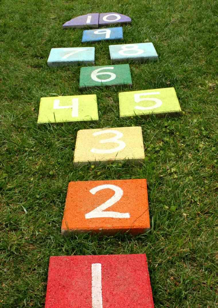 juegos infantiles para jardín dama