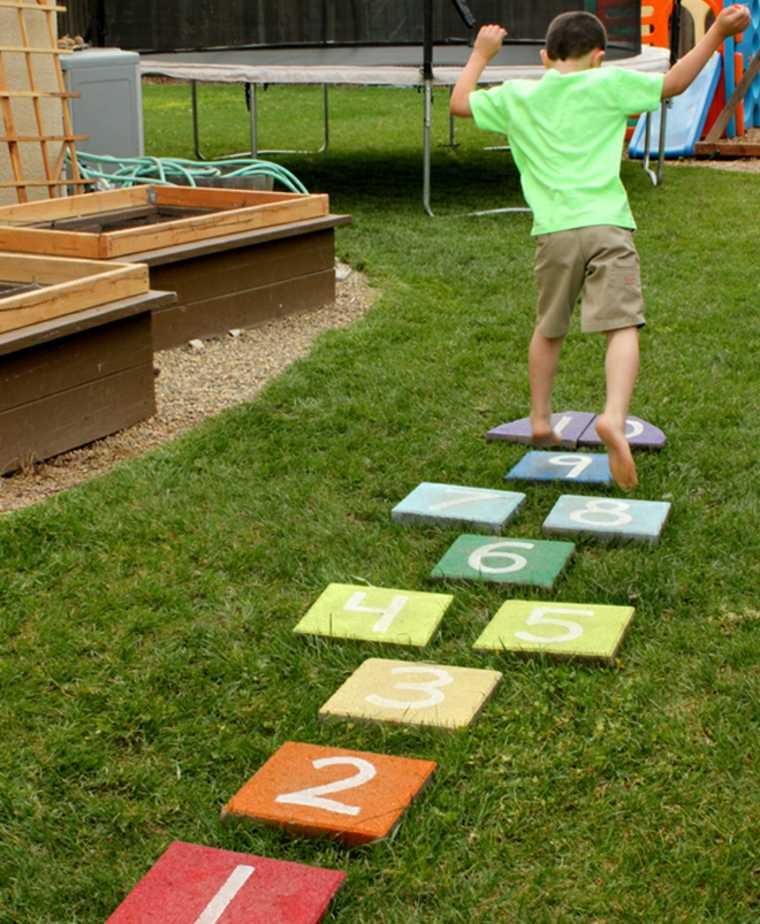 juegos infantiles para jardín ideas