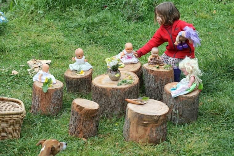 juegos infantiles para jardín picnic