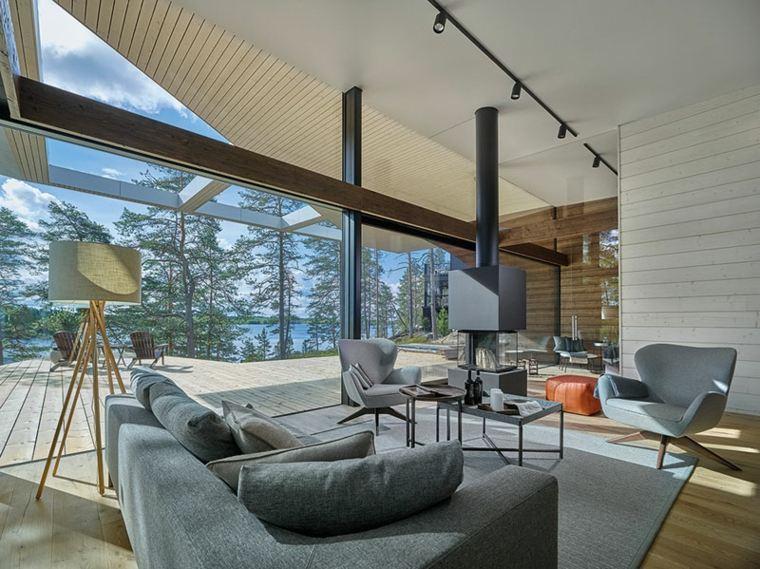la arquitectura espacios interiores salon