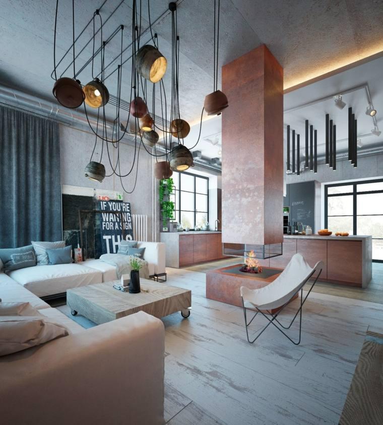 Colores en el diseño interior industrial