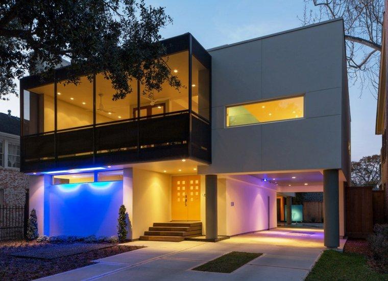 Iluminacion exterior integrando la magia en sus jardines for Iluminacion de jardines modernos