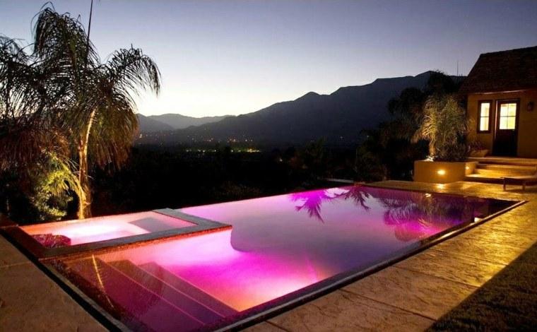 lamparas para exteriores-jardines-piscina