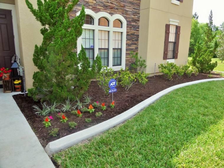 delimitar jardines con bordes