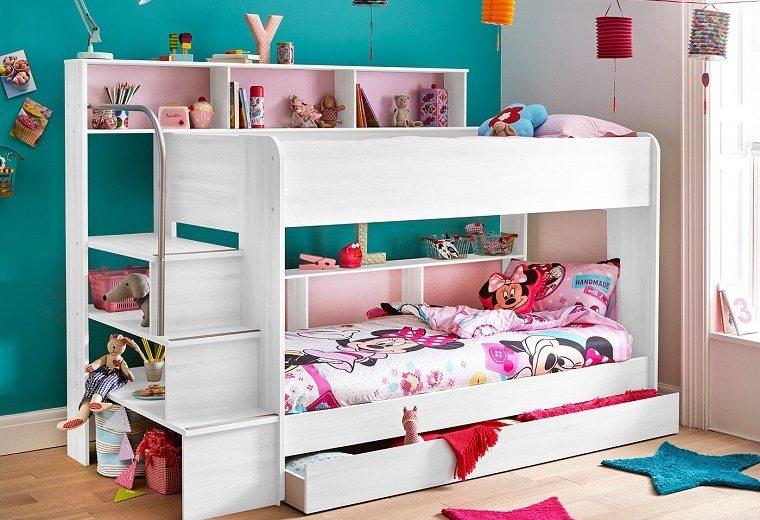 Habitaci n para ni os ideas de habitaciones infantiles - Literas para ninos espacios pequenos ...