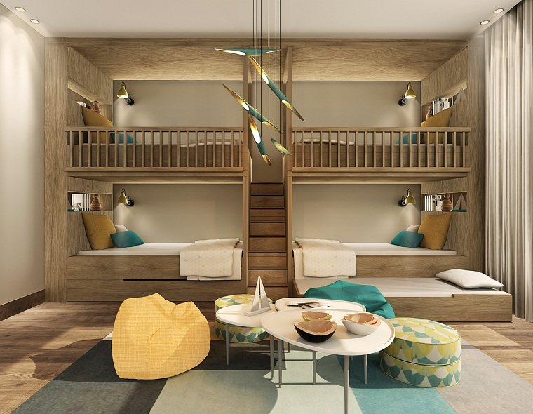 literas para niños muebles-cuatro-ninos-opciones