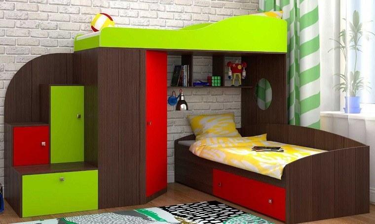 literas para niños muebles-habitacion-infantil