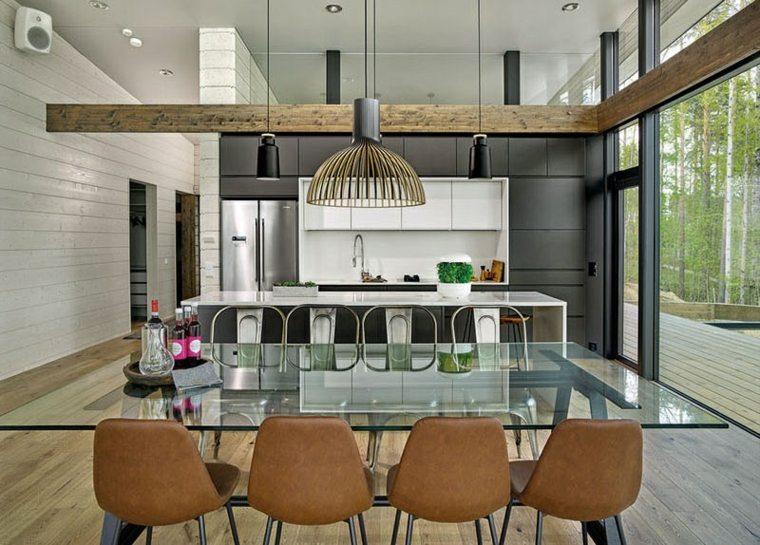 luminarias-modernas-suelo-madera