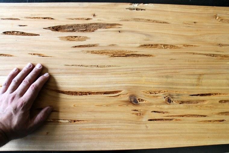 Corte los tablones al tamaño deseado