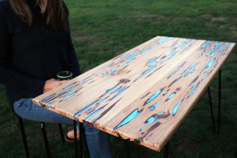 mesa brillante