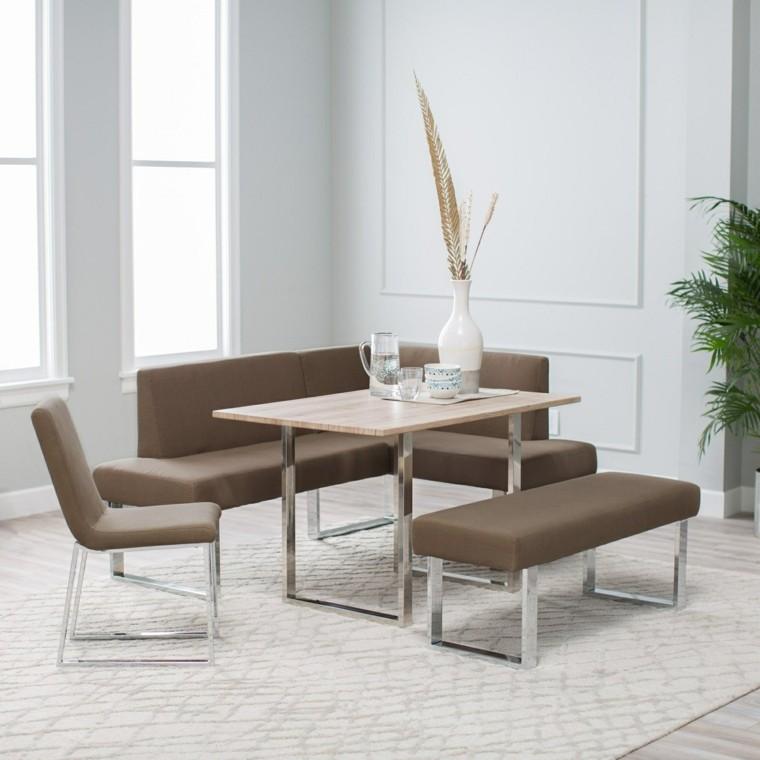 mesas de cocina-cuadradas-minimalistas