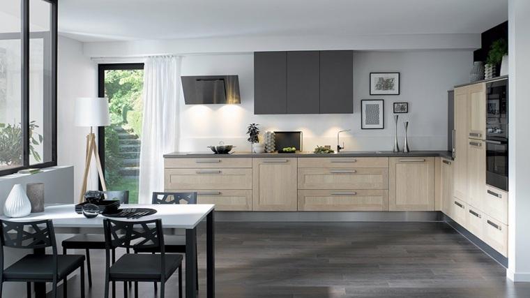 mesas de cocina-interiores-amplios