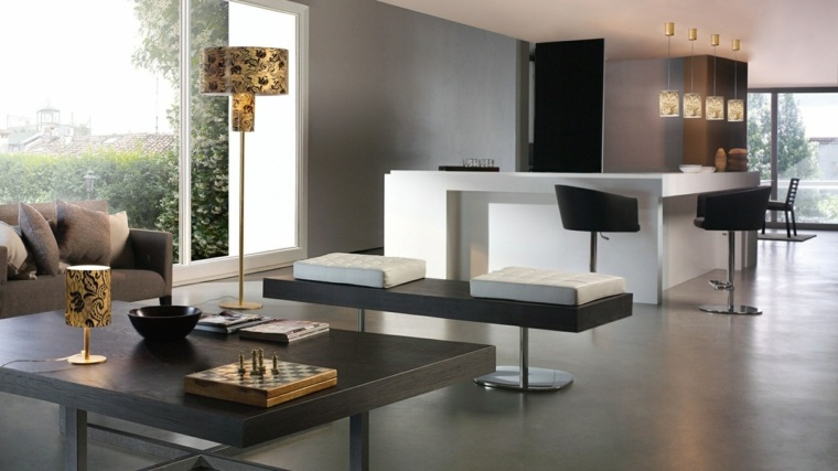 mesas de cocina-interiores-modernos