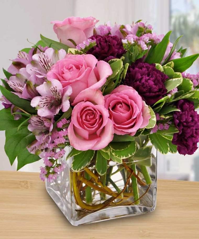 mesas de jardin-arreglos-florales